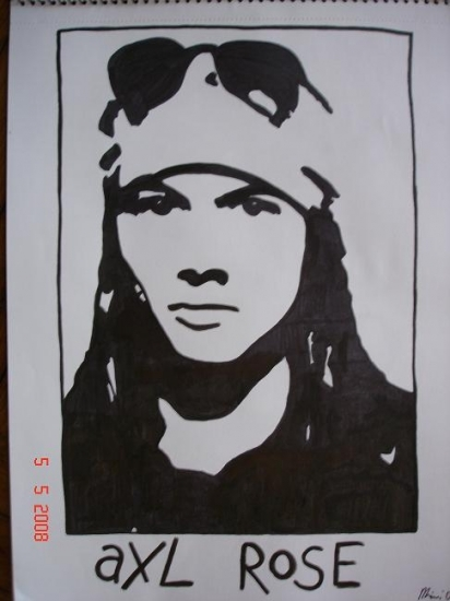 Axl Rose by mimoleto